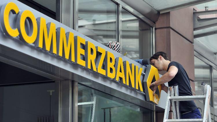 Negativzinsen Deutschland: Die Commerzbank führt Minuszinsen ein