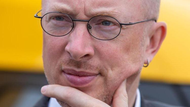 Christian Pegel (SPD), Mecklenburg-VorpommernsInfrastrukturminister.Foto:Jens Büttner/Archivbild