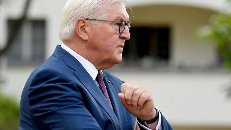 Bundespräsident Frank-Walter Steinmeier. Foto: Britta Pedersen/Archivbild