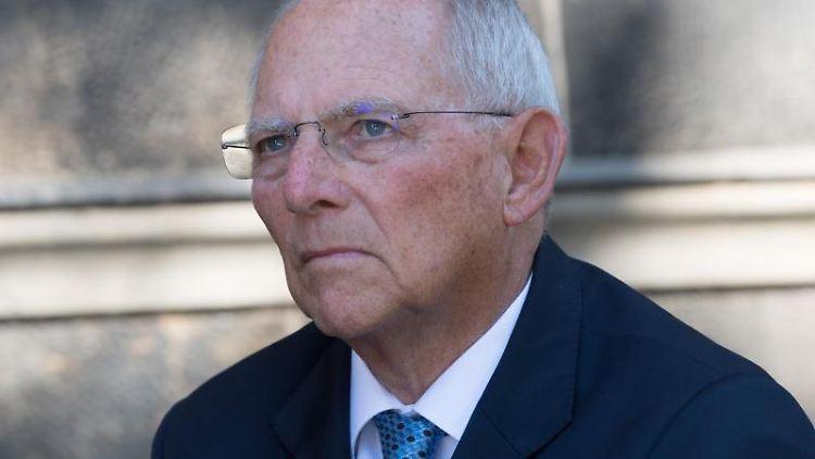 Wolfgang Schäuble (CDU), Bundestagspräsident, hält in diesem Jahr die Hauptrede bei der Medienkonferenz M100. Foto: S. Kahnert/Archivbild