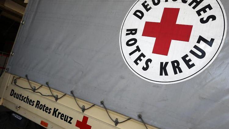 Das Logo des DRK. Foto:Wolfgang Kumm/Archivbild