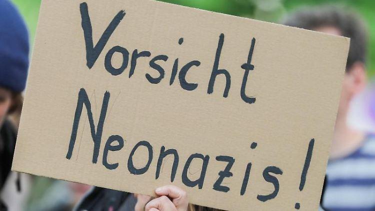 Protest gegen die rechtspopulistische Bewegung