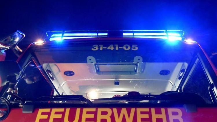 Ein Feuerwehr-Löschfahrzeug. Foto: Carsten Rehder/Archivbild