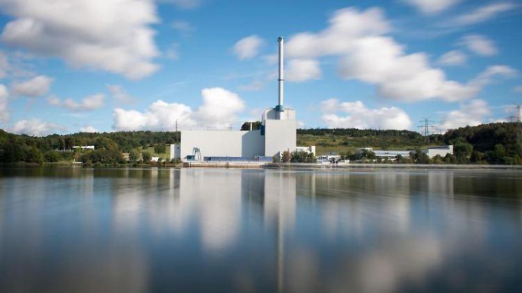 Das Kernkraftwerk Krümmel an der Elbe. Foto:Daniel Reinhardt/Archivbild