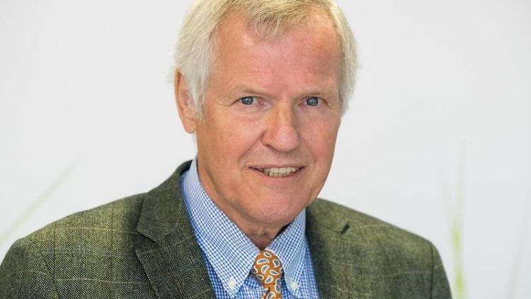 Jürgen Vocke, Präsident des Bayerischen Jagdverbandes. Foto: Daniel Karmann/Archivbild