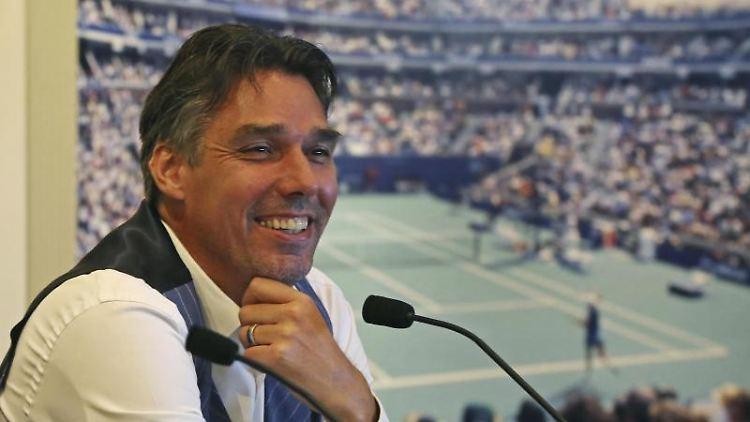 Michael Stich, ehemaliger deutscher Tennisspieler. Foto: Elise Amendola/Archiv