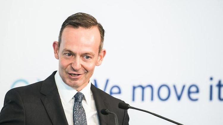 Volker Wissing (FDP), Verkehrsminister von Rheinland-Pfalz. Foto: Andreas Arnold/Archivbild