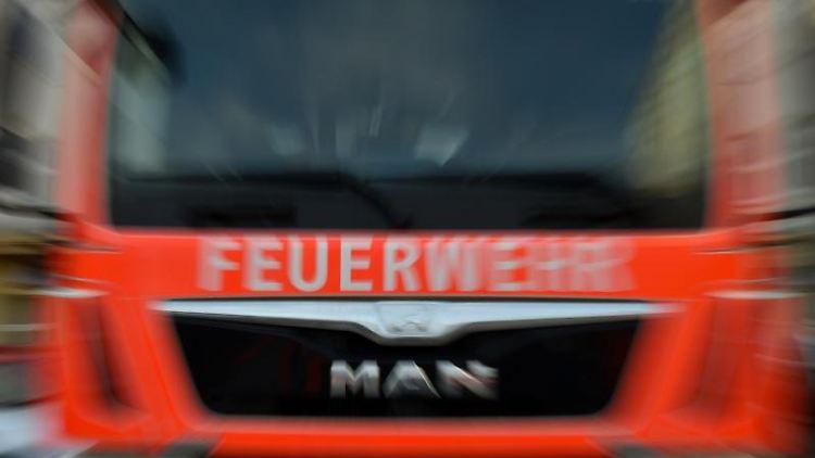 Feuerwehrauto. Foto: Britta Pedersen/Archivbild