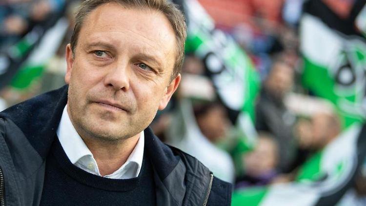 Hannovers Ex-Trainer Andre Breitenreiter.Foto:Swen Pförter/Archivbild