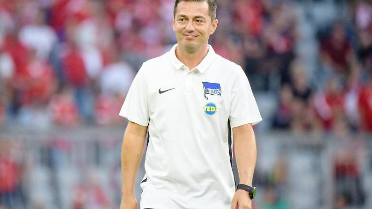 Herthas Trainer Ante Covic.Foto: Matthias Balk/Archivbild