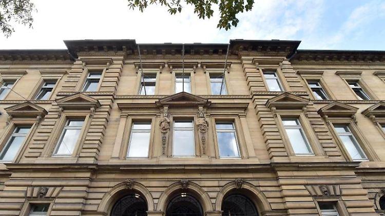 Das Landgericht Karlsruhe. Foto: Uli Deck/Archivbild