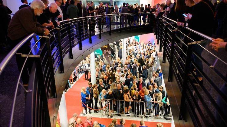 Die Eröffnungsgala des Internationalen Filmfests in Oldenburg. Foto: Mohssen Assanimoghaddam
