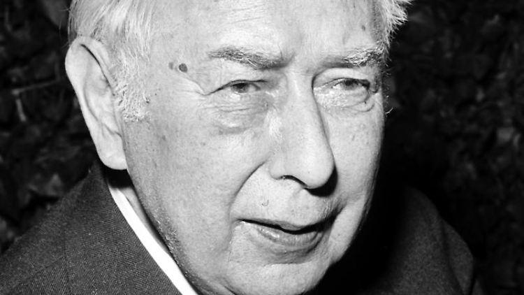 Altbundespräsident Theodor Heuss. Foto: Erich Braunsperger/Archivbild