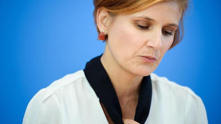 Katja Kipping, Parteivorsitzende der Linken.Foto:Gregor Fischer/Archivbild