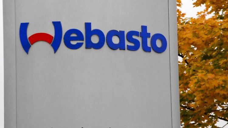 Das Logo der Firma Webasto. Foto: Winfried Wagner/Archivbild