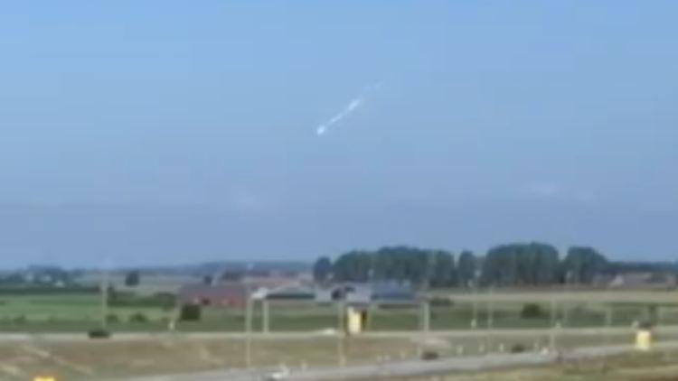 Asteroid über Norddeutschland
