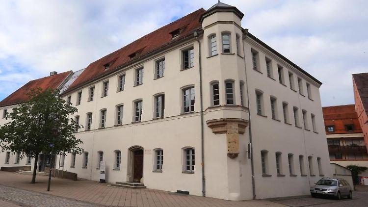 Das Memminger Landgericht. Foto: Karl-Josef Hildenbrand/Archiv