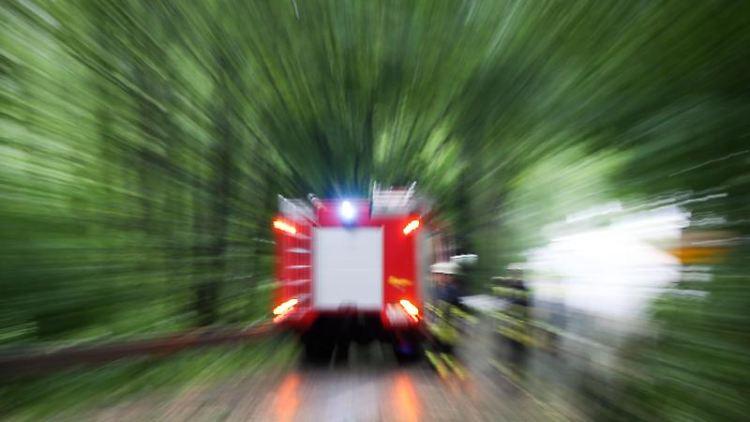 Ein Einsatzwagen der Feuerwehr. Foto: Friso Gentsch/Archivbild