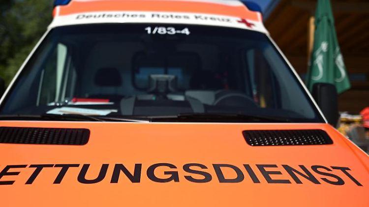Ein Rettungswagen. Foto:Patrick Seeger/Archivbild