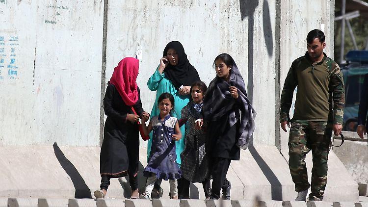 Zweite Explosion in Kabul