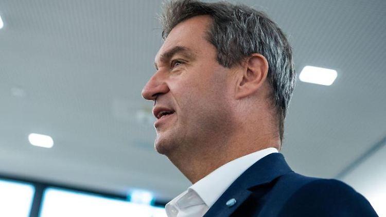 Markus Söder (CSU), Ministerpräsident von Bayern. Foto: Lino Mirgeler/Archiv