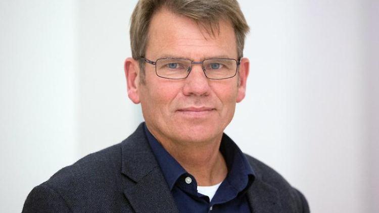Torsten Jäger, Landesvorsitzender der Gewerkschaft der Polizei (GdP) in Schleswig-Holstein. Foto: Christian Charisius/Archivbild