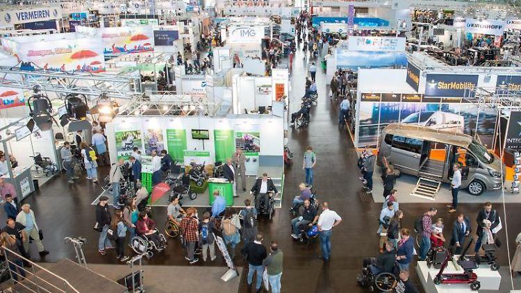 Auf der internationalen Fachmesse für Rehabilitation und Pflege
