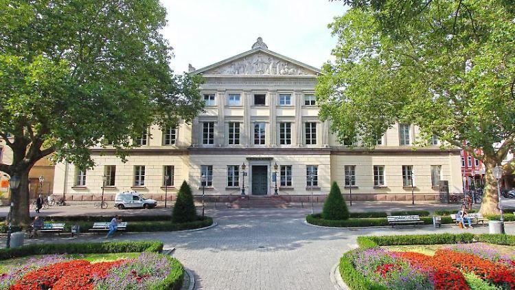 Blick auf dieGeorg-August-Universität Göttingen.Foto: Stefan Rampfel/Archivbild