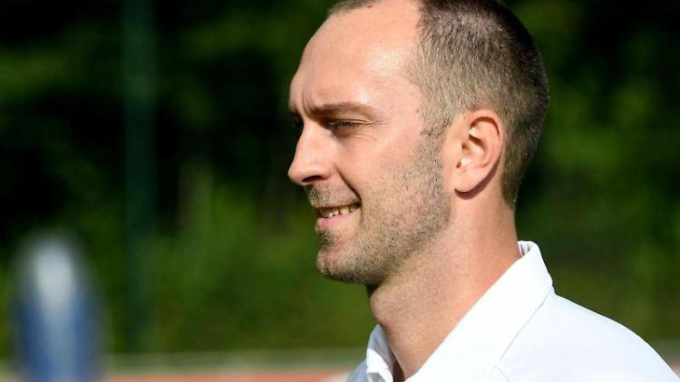 PK Holstein Kiel mit Interimscoach Ole Werner. Foto: Carsten Rehder