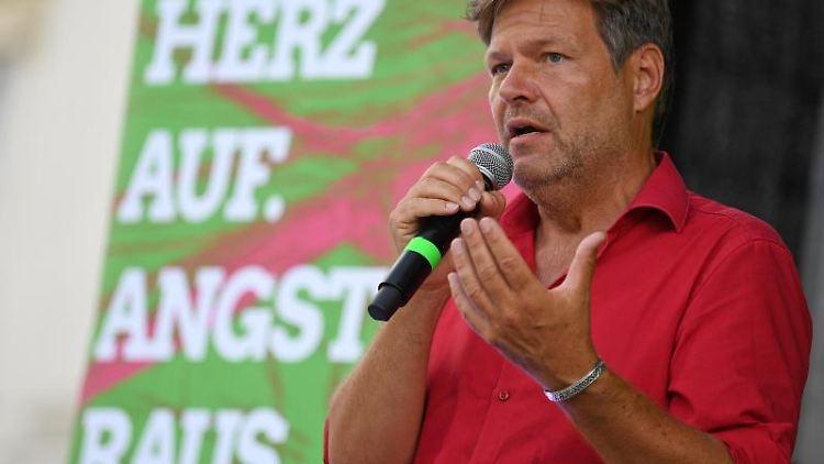 Robert Habeck, Bundesvorsitzender von Bündnis 90/Die Grünen. Foto: Hendrik Schmidt/Archivbild