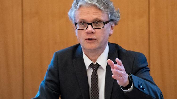 Johannes Caspar, Hamburgischer Beauftragter für Datenschutz. Foto: Daniel Reinhardt/Archivbild
