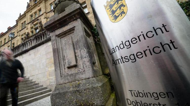 Das Land- und Amtsgericht Tübingen. Foto:Sina Schuldt/Archiv