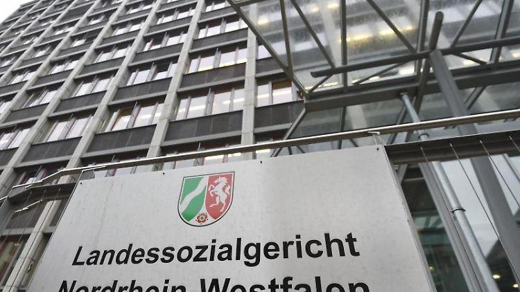 Landessozialgericht Nordrhein-Westfalen. Foto: Caroline Seidel/Archivbild