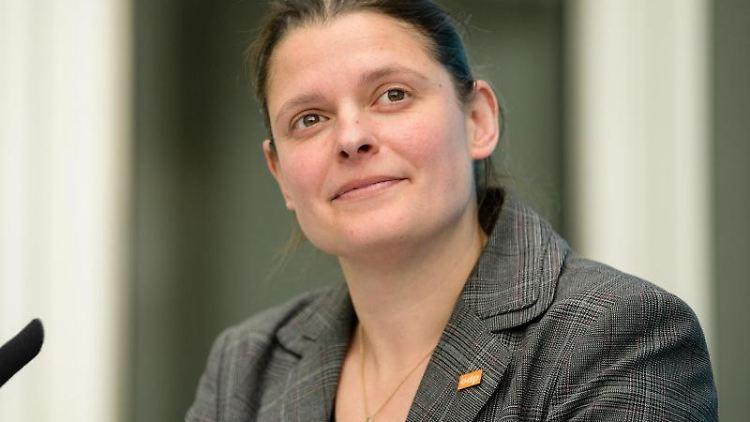 Agnes Becker, Beauftragte des Volksbegehrens und Stellvertretende Vorsitzende der ÖDP Bayern. Foto:Matthias Balk/Archivbild
