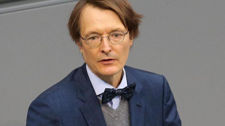 Karl Lauterbach (SPD) spricht im Deutschen Bundestag. Foto:Wolfgang Kumm/Archivbild