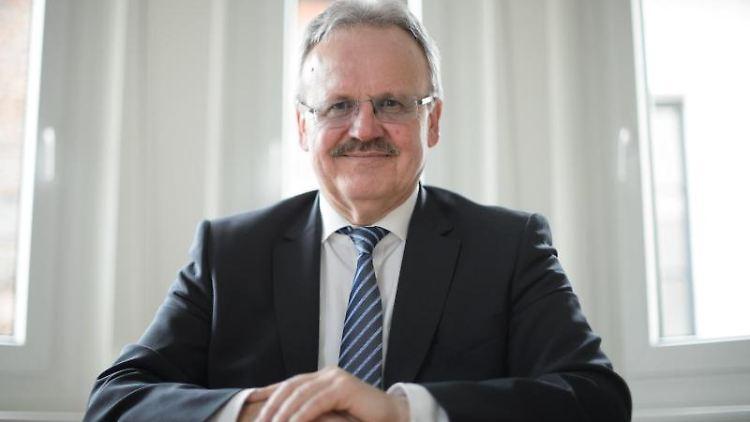 Zenon Bilaniuk, Landeschef des Bundes der Steuerzahler Baden-Württemberg. Foto: Sina Schuldt/Archivbild