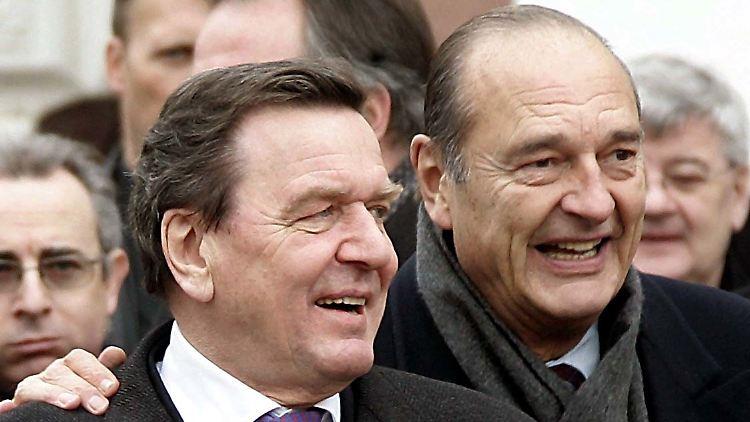 Abschied von Jacques Chirac in Paris
