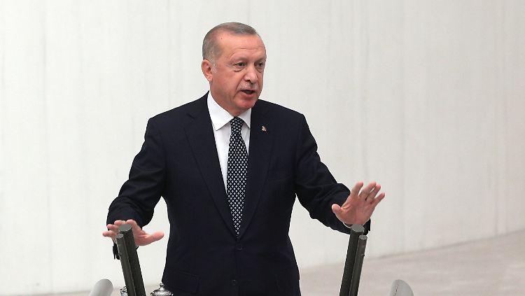 Erdogan droht mit baldiger Offensive gegen Kurdenmiliz in Nordsyrien