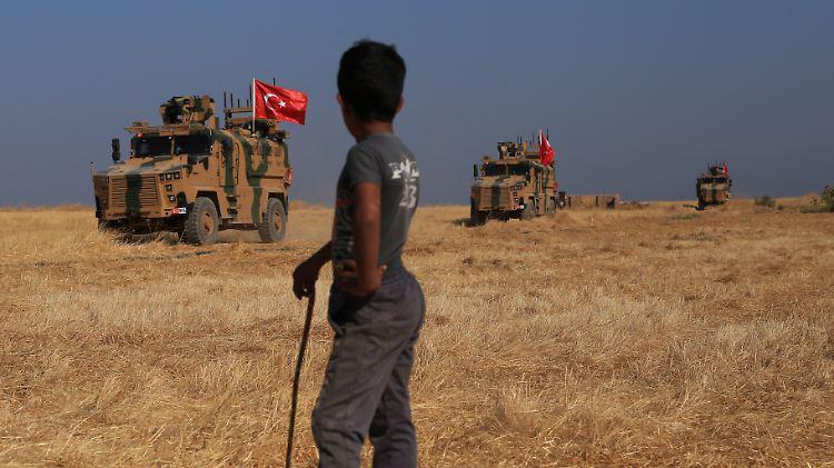 Militär: Vor türkischer Offensive in Syrien: US-Truppen ziehen ab