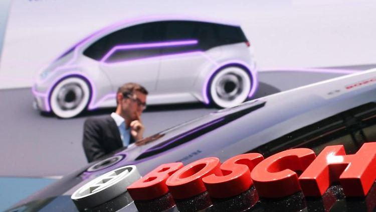 Logo und Schriftzug von Bosch