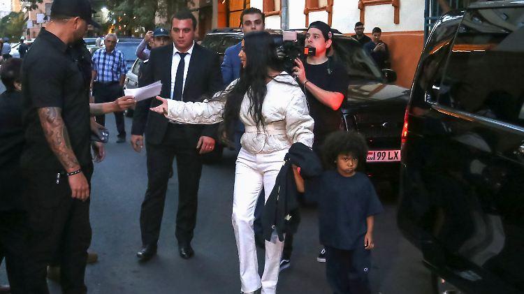 Kim Kardashian ließ ihre Kinder in Armenien taufen