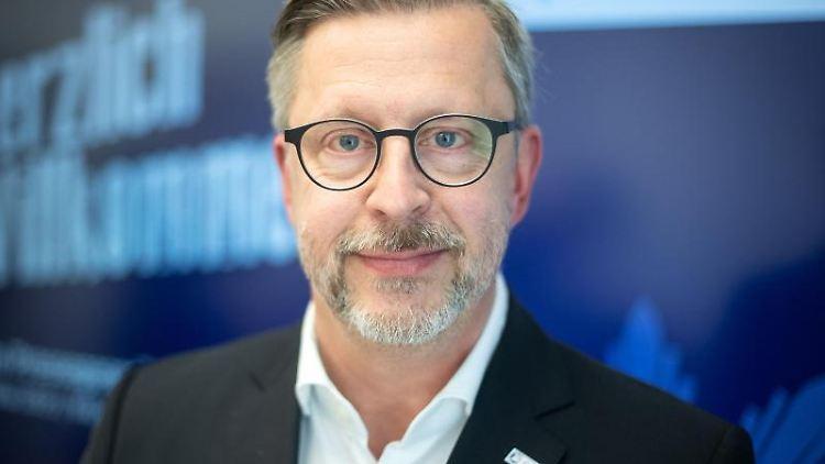 Rainer Nachtigall, Landesvorsitzender der Deutschen Polizeigewerkschaft (DPolG) in Bayern. Foto: Sina Schuldt/dpa