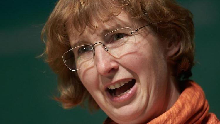 Integrationsstaatssekretärin Christiane Rohleder. Foto: Thomas Frey/dpa