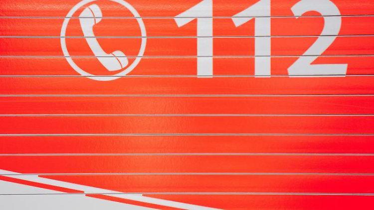 Ein Feuerwehr-Gerätewagen mit der Aufschrift