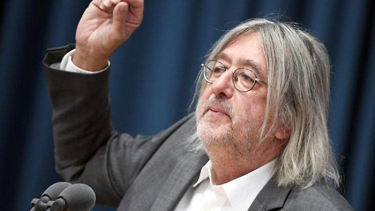 Bernhard Braun, Fraktionsvorsitzender von Bündnis 90/Die Grünen im Landtag Rheinland-Pfalz. Foto: Arne Dedert/dpa