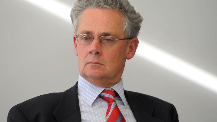Franz Rainer Enste, Ex-Regierungssprecher Niedersachsens. Foto: Soeren Stache/dpa!Archivbild