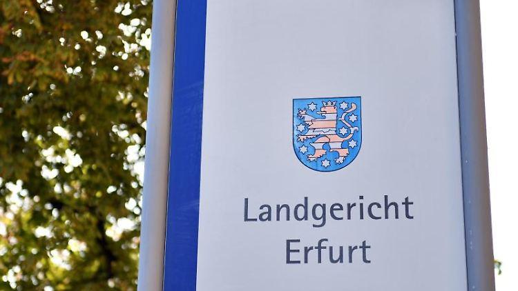 Landgericht Erfurt. Foto: Martin Schutt/zb/dpa/Archivbild