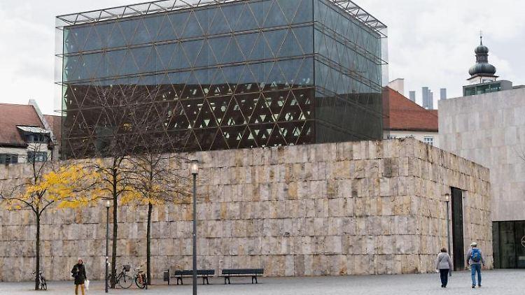 Die Münchner Hauptsynagoge Ohel Jakob. Foto: Matthias Balk/dpa/Archivbild
