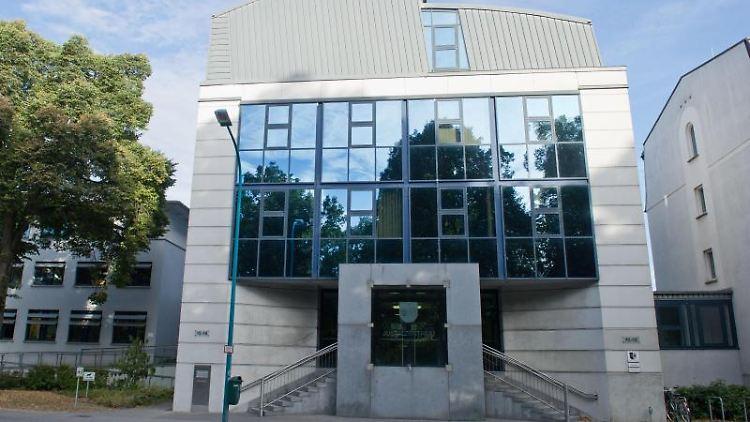 Das Landgericht in Neubrandenburg. Foto: Stefan Sauer/zb/dpa/Archivbild