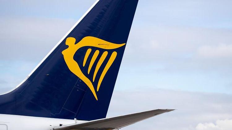 Ein Linienflugzeug der Fluggesellschaft Ryanair. Foto: Daniel Karmann/dpa/Archivbild